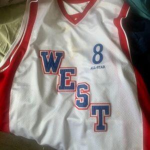 Vintage Kobe Bryant all star jersey
